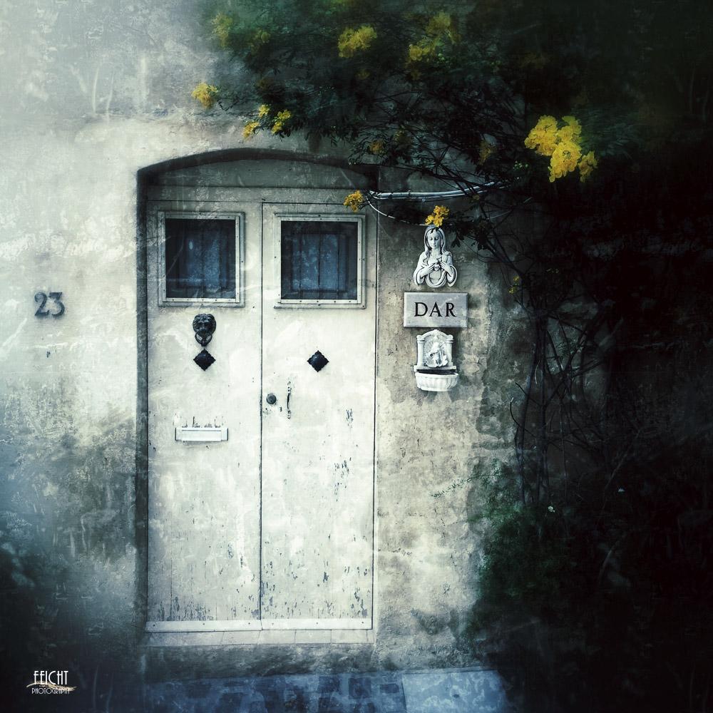Tür auf Gozo