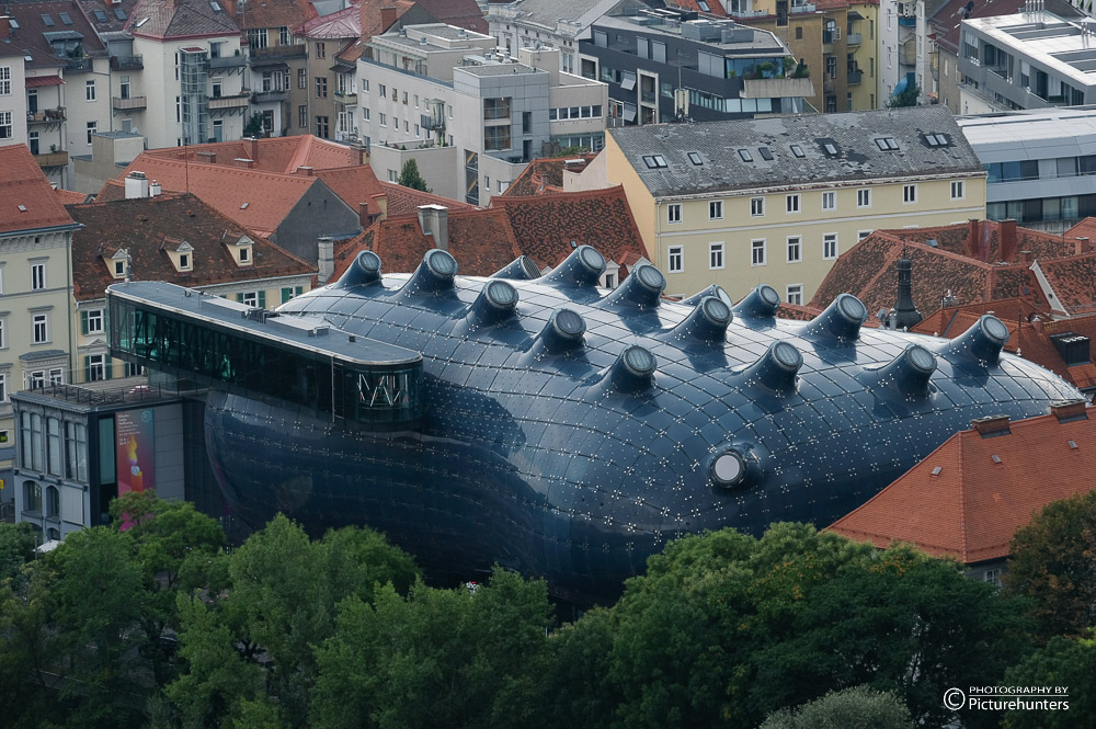 Dach des Kunsthauses