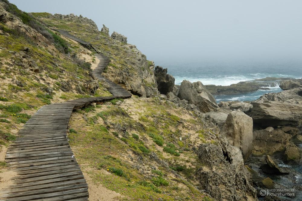 Wanderweg Robberg Island