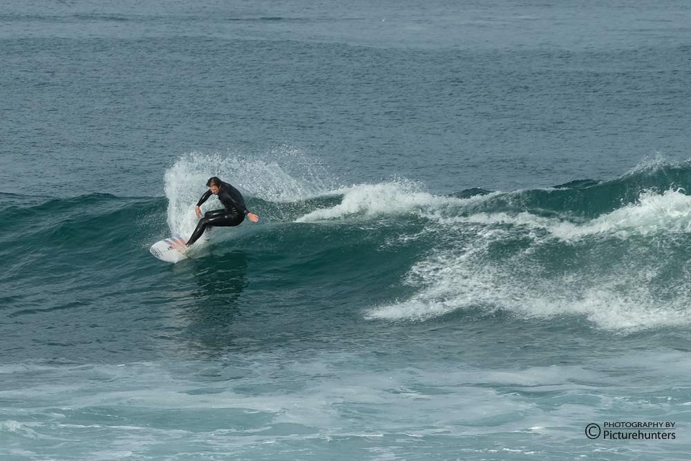 Surfer in der Mossel Bay