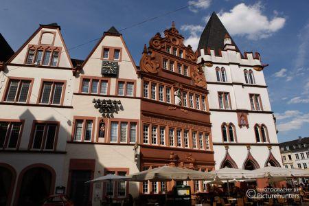 Häuserzeile in Trier