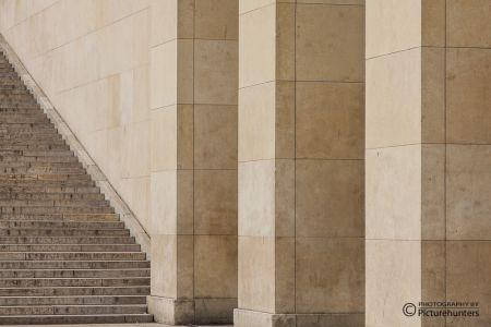 Treppen bei La Defence
