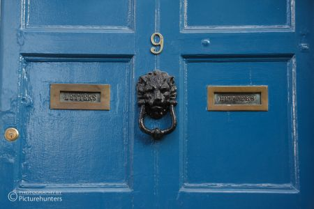 Blaue Tür in Cork | Irland
