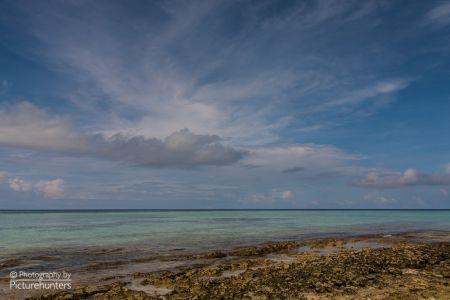 Wolkenstimmung überm Meer