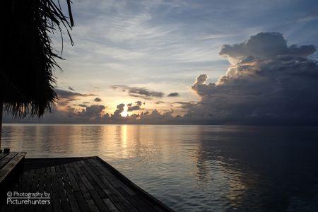 Wolkenstimmung auf Eriyadu