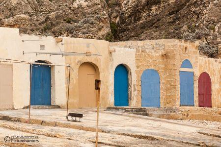 Fischerhäuschen auf Gozo