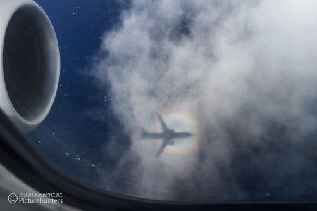 Flugzeugschatten