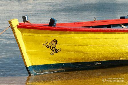 Boot in Santa Luzia   Portugal
