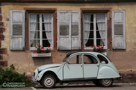 Alter Citroen in Frankreich