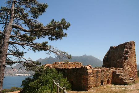 Ruine in der Hout Bay