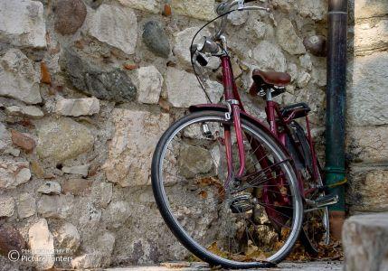 Fahrrad in Bardolino