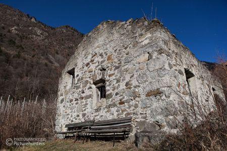 Kirchenruine in Südtirol