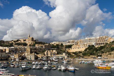 Blick auf den Hafen Mgarr | Gozo