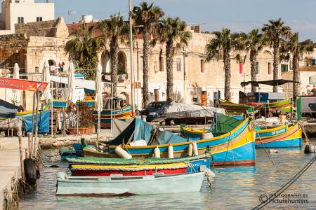 Fischerboot in Marsaxlokk