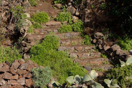 Steintreppen auf La Palma