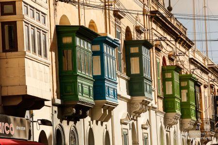 Balkone auf Malta