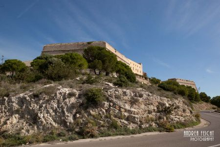 Burg der Hauptstadt