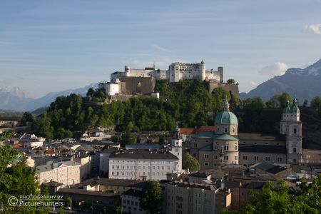 Salzburg - Burgansicht