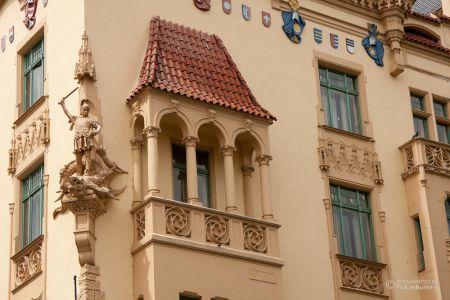 Baukunst in Prag