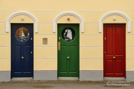 Bunte Türen in Cobh | Irland