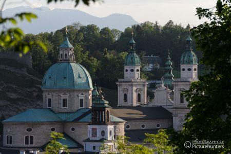 Kirchtürme in Salzburg