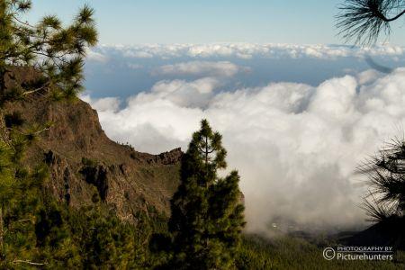 Wolken über den Tälern