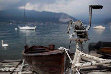 Schiffsdetail am Lago Maggiore