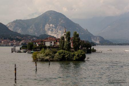 Kleine Insel im Lago Maggiore
