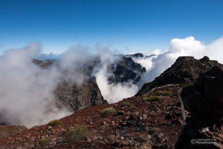 Muchachos in Wolken