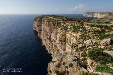 Felsküste auf Gozo