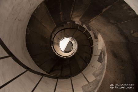 Blick im Leuchtturm Fuencaliente