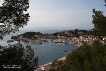 Blick auf Port Soller