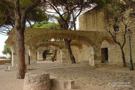 Auf der Burg in Lissabon
