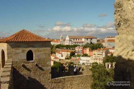 Blick von der Burg | Lissabon