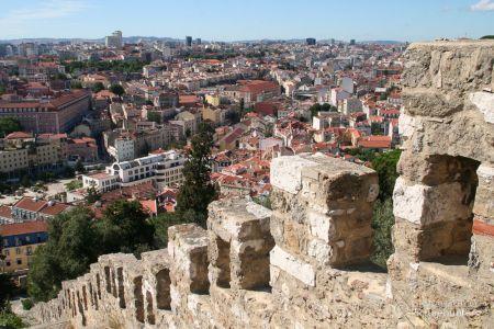 Burgzinnen | Lissabon