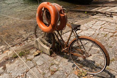 Fahrrad am Lago Maggiore