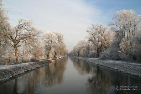 Winterstimmung an der Amper