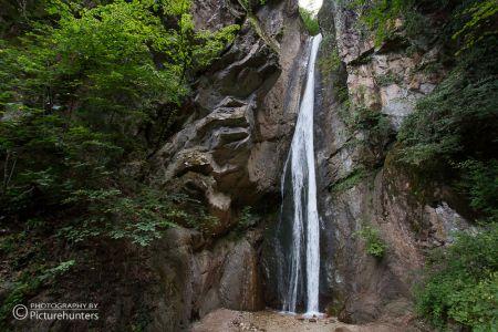 Wasserfall im Schatten