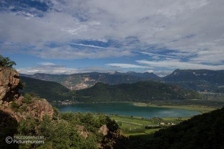Blick über den Kalterer See