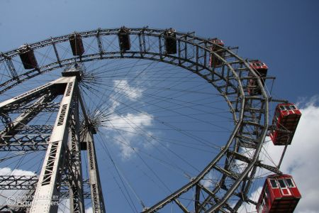 Riesenrad am Prater in Wien