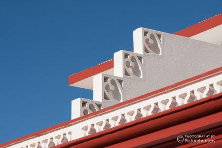 Filigrane Dachbaukunst