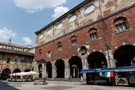 Der Markplatz von Mailand