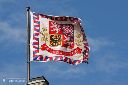 Flagge über Prag