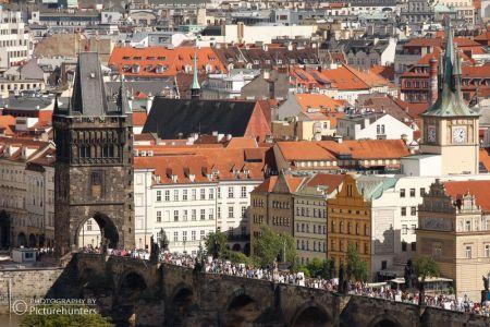 Blick zur Karlsbrücke