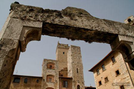 Brunnen in San Gimignano