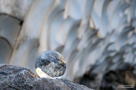 Glaskugel am Watzmann