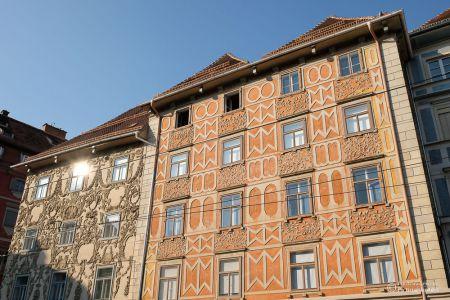 Grazer Hausfassade