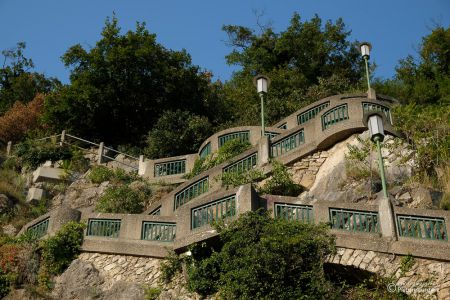 Treppe zum Schlossberg