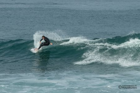 Surfer in der Mossel Bay