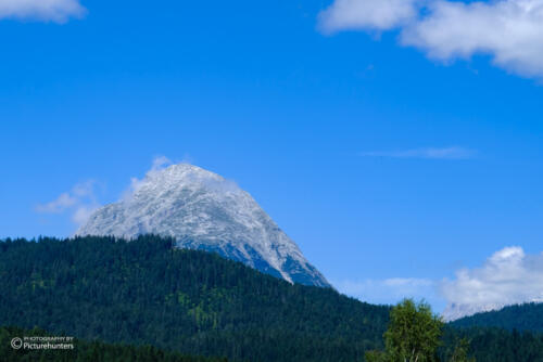 Spannende Bergform